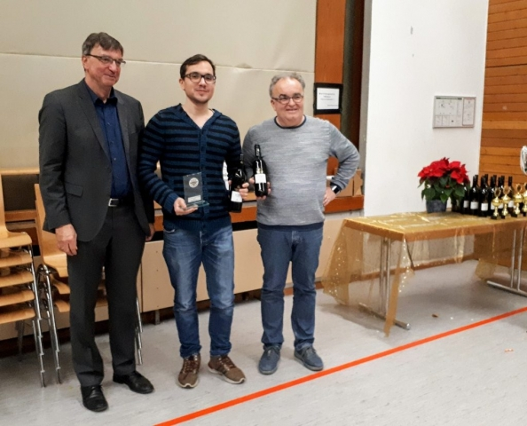 IM Dennis Kaczmarczyk - Sieger Einzelwertung Brett 1