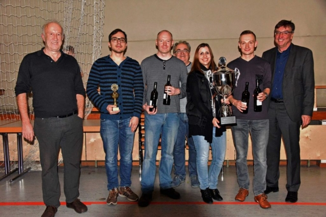 SG Winterthur - Sieger des 45. Neujahrsschachturniers Umkirch 2018